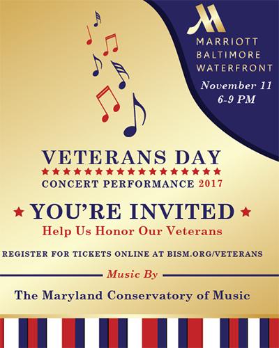 Invitation to Veterans Day Concert