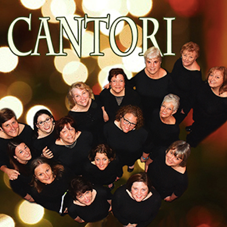 Holiday music performance with Cantori.
