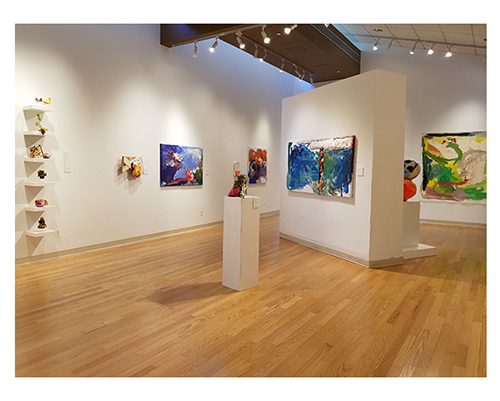 Installation of Works by Jim Condron