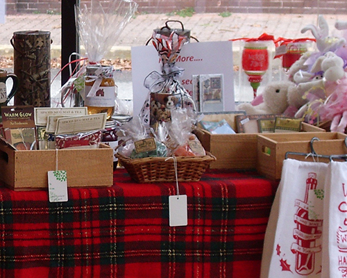 Downtown Denton's Holiday Marketplace