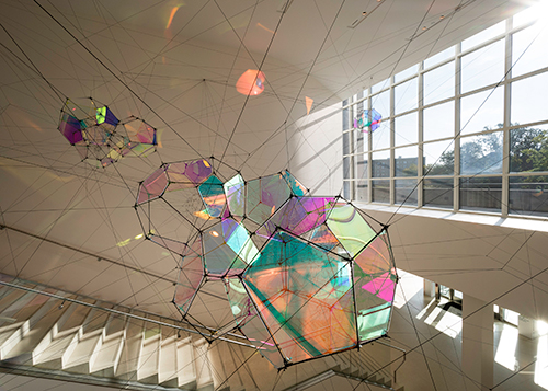 Tomás Saraceno. Entangled Orbits. 2017.