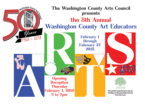 8th Annual Washington County Art Educators poster
