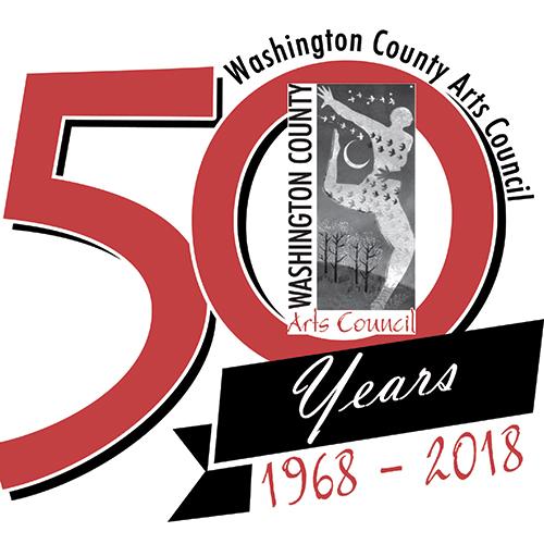 WCAC 50th Anniversary Logo