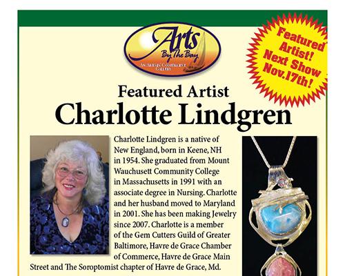 Featured Artist Charlotte Lindgren
