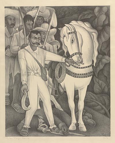Diego Rivera. Zapata. 1932.
