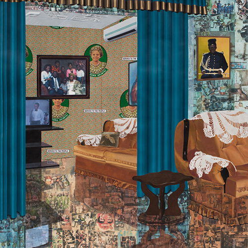 Njideka Akunyili Crosby. Home: As You See Me.