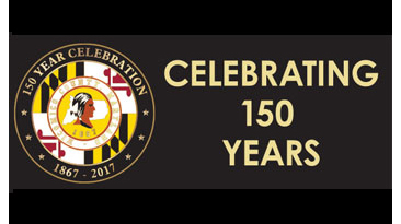 150 Year Celebration Dinner graphic