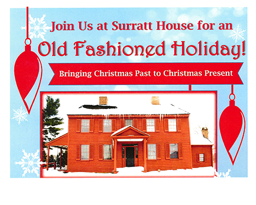 Old Fashioined Holiday at Surratt House poster