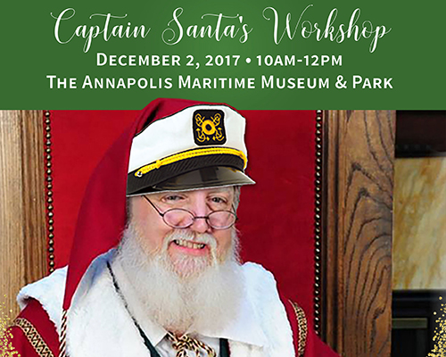 Captain Santa at Annapolis Maritime Museum