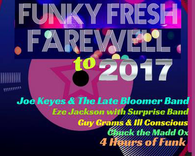 Funky Fresh Farewell 2017 Party Poster