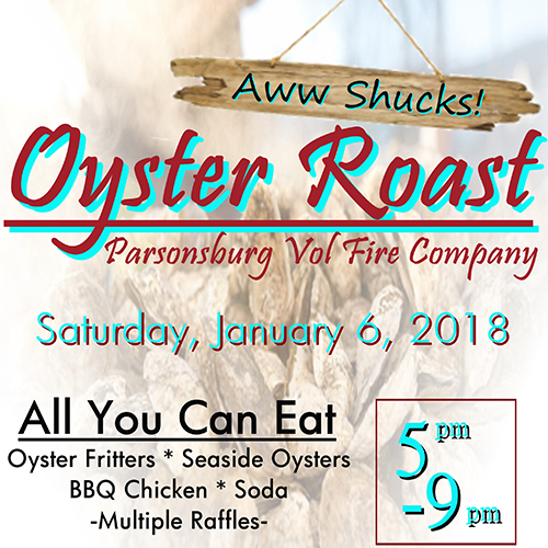 Aww Shucks - Oyster Roast poster