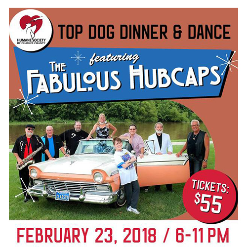 2018 Top Dog Dinner & Dance Poster