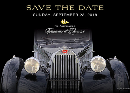 Concours D' Elegance 2018 poster