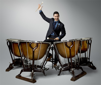 James Wyman, Timpanist for the Baltimore Symphony Orchestra