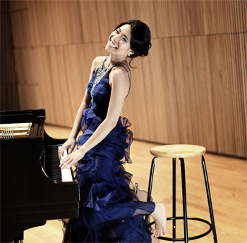 Joyce Yang performs with the Baltimore Symphony Orchestra
