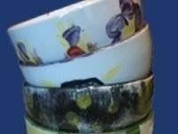 Photo of hand-made ceramic bowls.