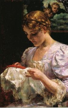 19th Century Hands-On Needlework