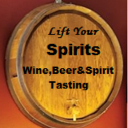 Lift Your Spirits Wine, Beer & Spirit Tasting  Logo