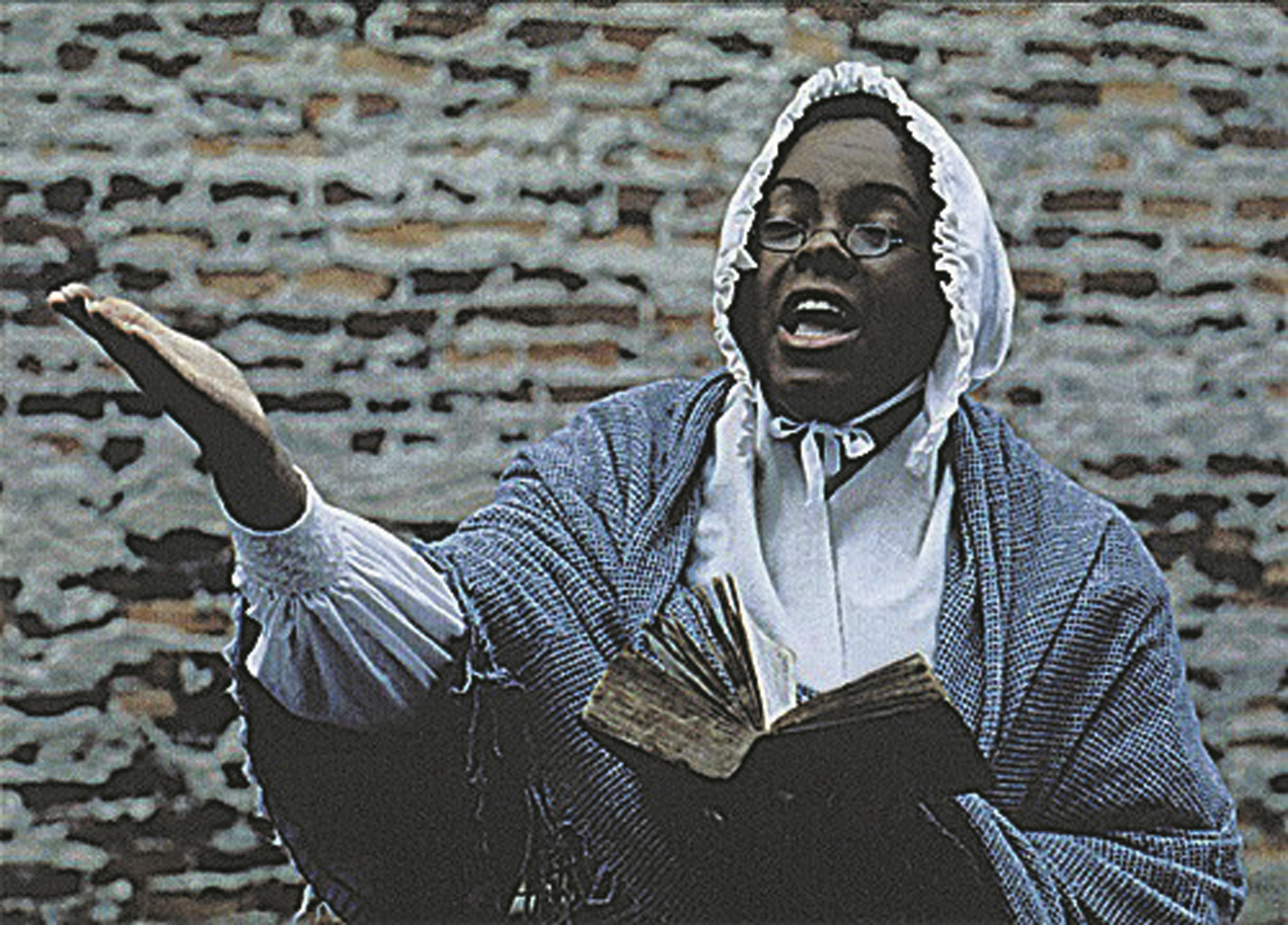 actress portraying Sojourner Truth