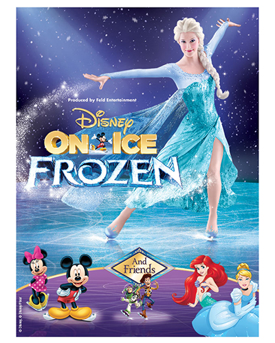 Disney On Ice Presents Frozen - show poster