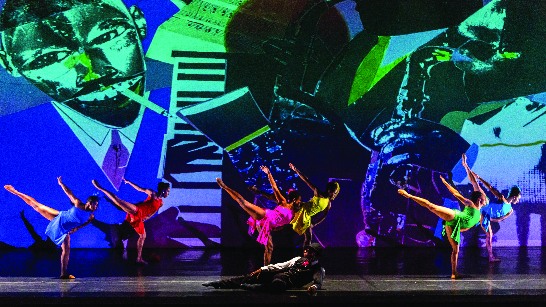 Dallas Black Dance Theatre dancers