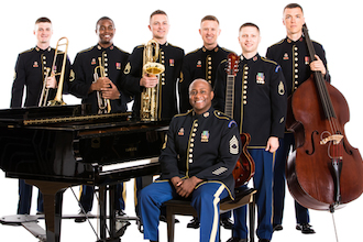 The Ambassadors Jazztet of The United States Field Band.