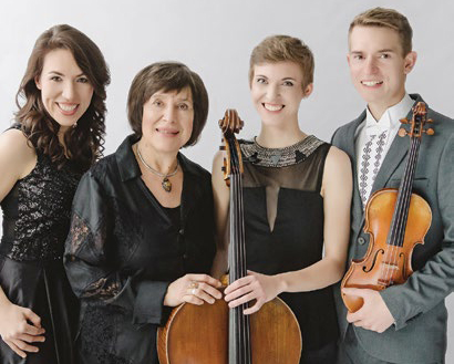 Cecylia Barczyk, Lithuanian violinist Borisas Traubas and The American Virtuosi