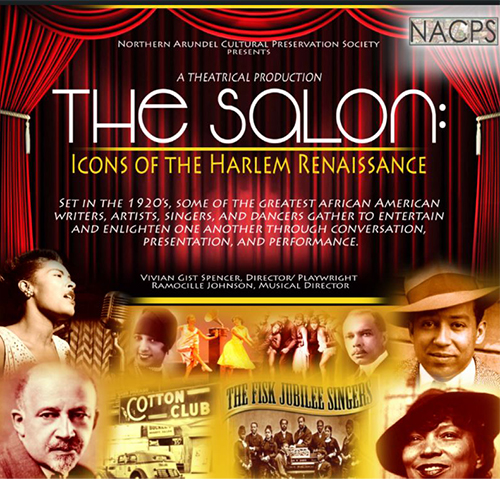 The Salon: Icons of the Harlem Renaissance poster