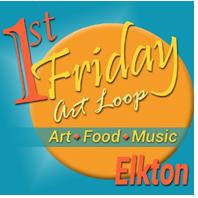 First Fridays in Elkton Art Loop Logo