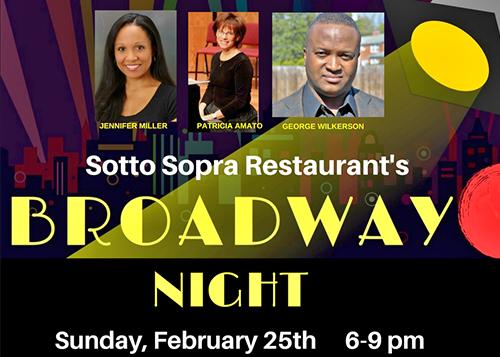 Broadway Night Poster