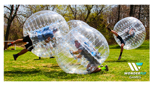 BubbleBall game in action