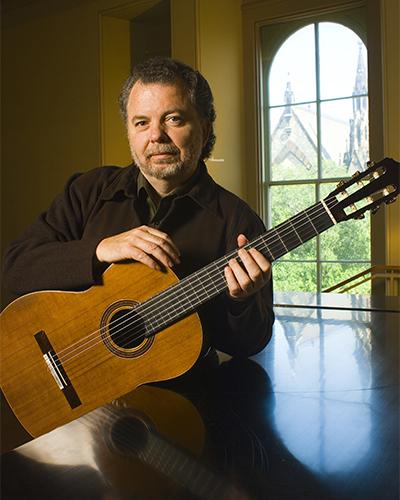 Classical guitarist, Manuel Barrueco