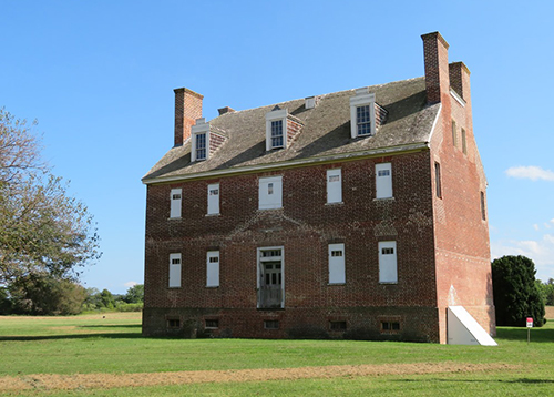 Jesuit Manor House near Newtowne Neck