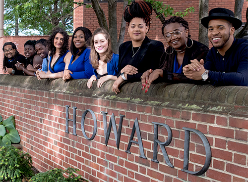 Group at Howard University