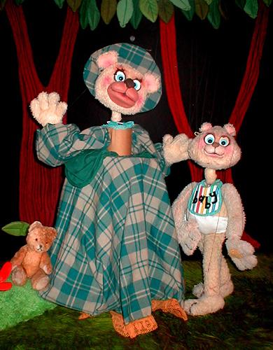 Teddy Bear and Momma Bear