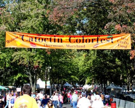 People Attending Catoctin Colorfest