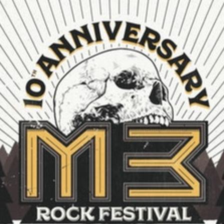 M3 Rock Festival logo