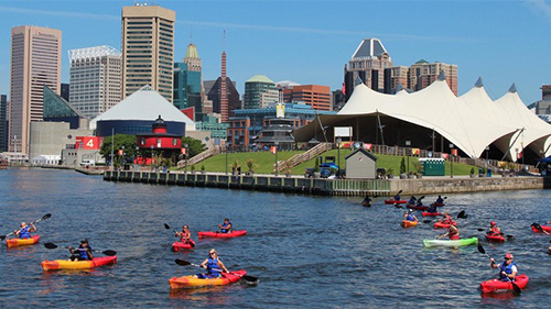 Inner Harbor Kayak tour
