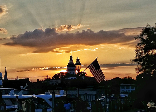 Annapolis at Sunset