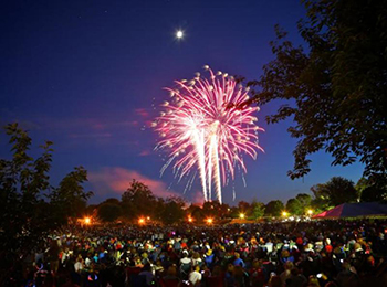 Frederick's Fourth - Fireworks