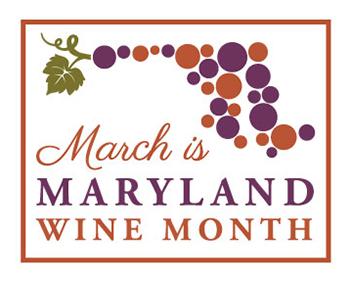Maryland Wine Month Logo