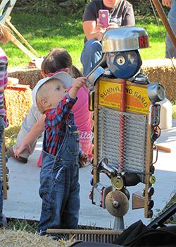 Children Enjoying the Hoedown