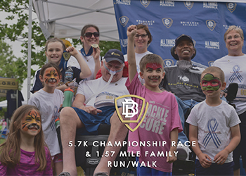 Participants at the Brigance Brigade 5.7K  Race