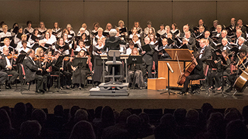 Columbia Pro Cantare appears regularly at Rouse Theatre