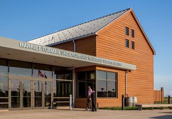 Harriet Tubman Underground Railroad Visitor Center and State Park.
