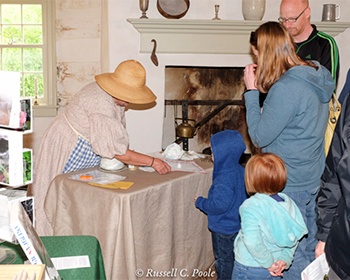 Visitors at Catoctin Furnace