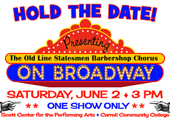 Old Line Statesmen Barbershop Chorus flyer