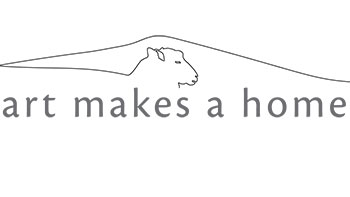 Art makes a home show logo
