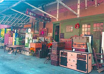 Furniture Market & Trunk Show - Iron Will Woodwork's Front Door