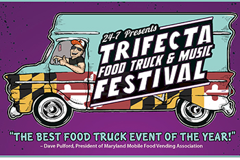 Trifecta Food Truck & Music Festival Poster